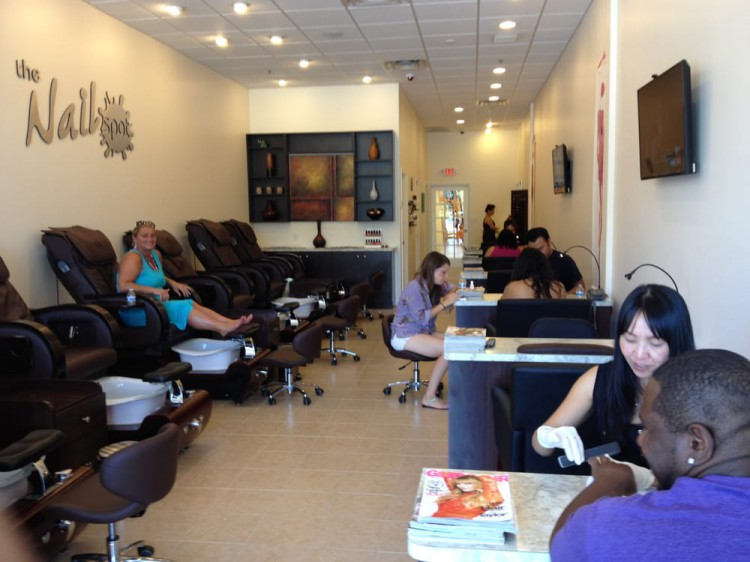 Nail connect the nail spot c n th nail g p for A spot nail salon