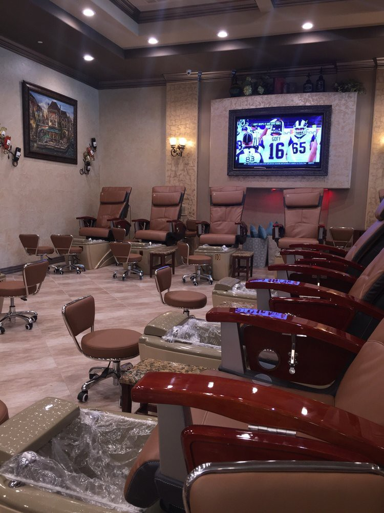 Upscale Spa Nails Fort Worth Tx